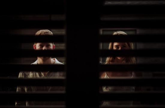 dark photo of eyes