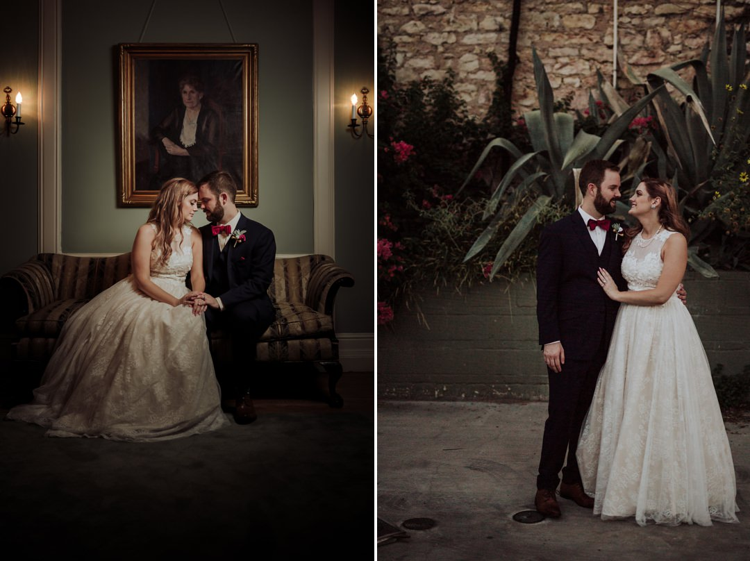 classic portraits of couples