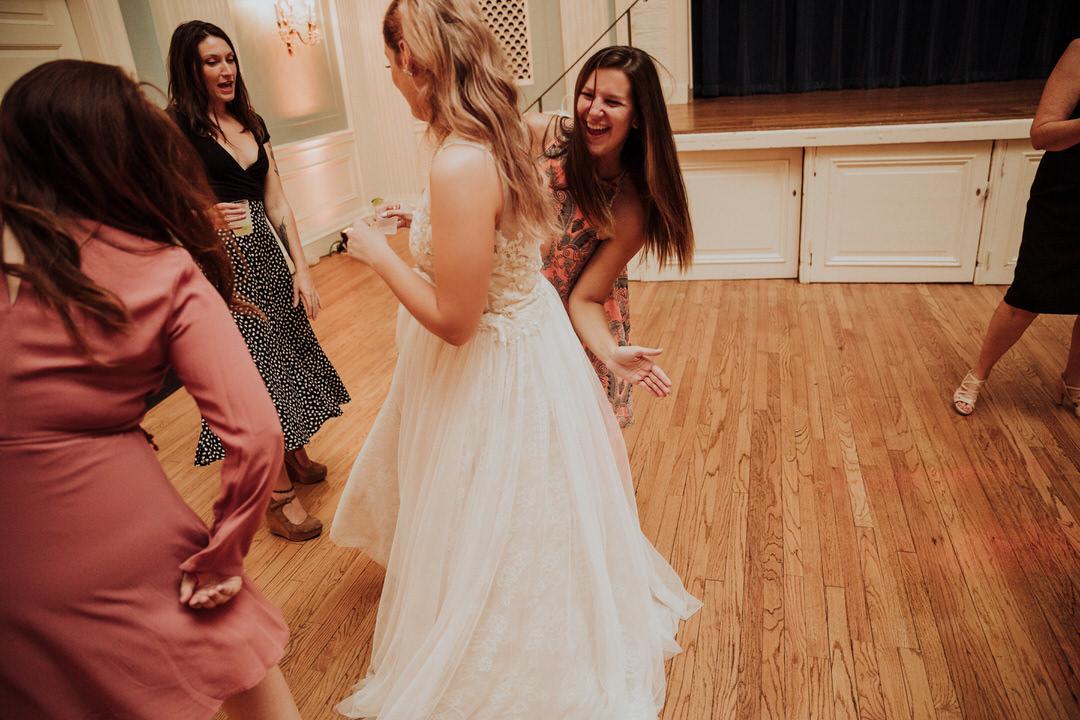 dance floor butt slap